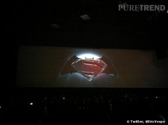 "Le logo de ""Man of Steel 2""."