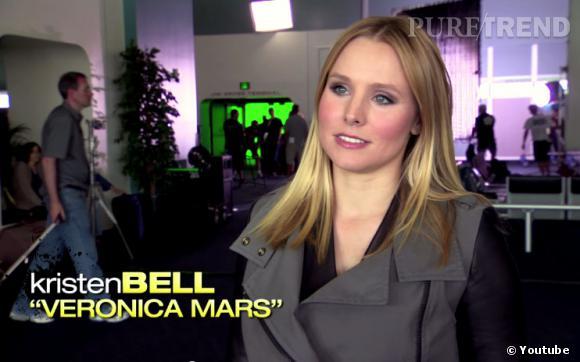 """Kristen Bell et l'équipe de """"Veronica Mars"""" ont présenté le premier trailer du film lors du Comic-Con."""