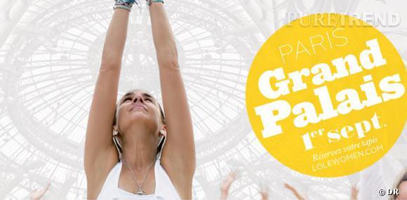 Le Lolë White Tour : 4 000 personnes pour une séance de yoga inédite au Grand Palais.