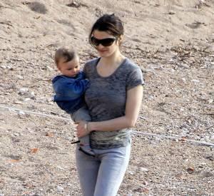 Rachel Weisz et son fils Henry en 2007.