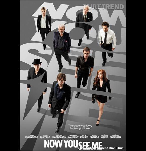 """""""Insaisissables"""", un film de Louis Leterrier avec Mélanie Laurent, Mark Ruffalo, Jesse Eisenberg, Morgan Freeman et Isla Fisher."""