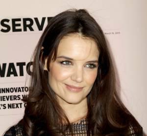 Katie Holmes : apres le maquillage, elle se met au parfum