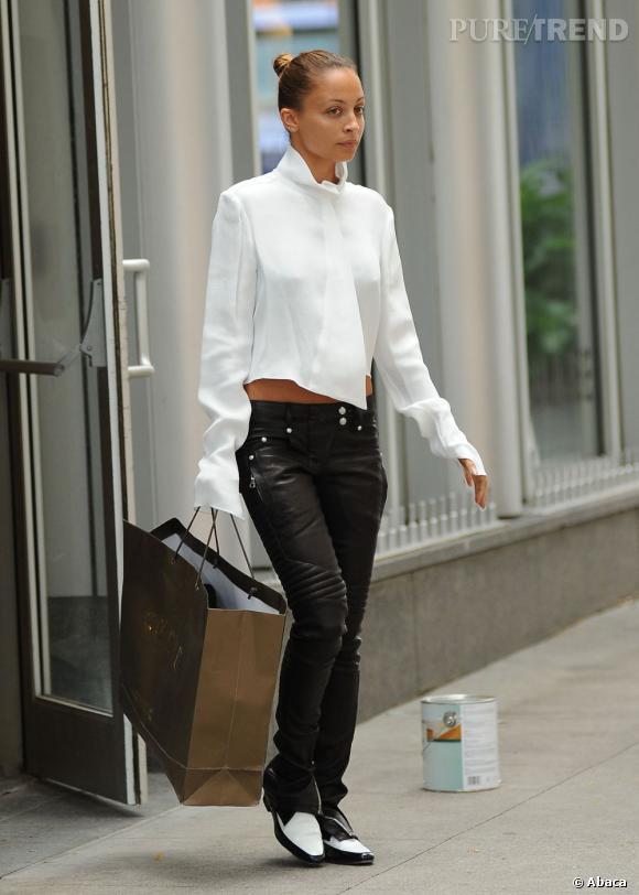 Mecredi, Nicole Richie a profité d'une sortie new-yorkaise pour faire du shopping à la boutique Curve.