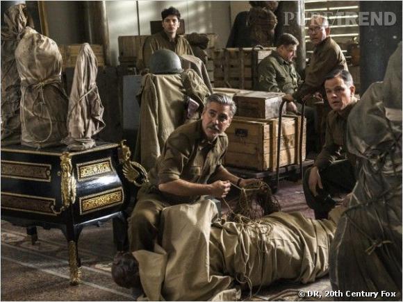 """Les """"Monuments Men"""" sont chargés d'infiltrer l'armée américaine pour récupérer les oeuvres d'art volées par les nazis."""
