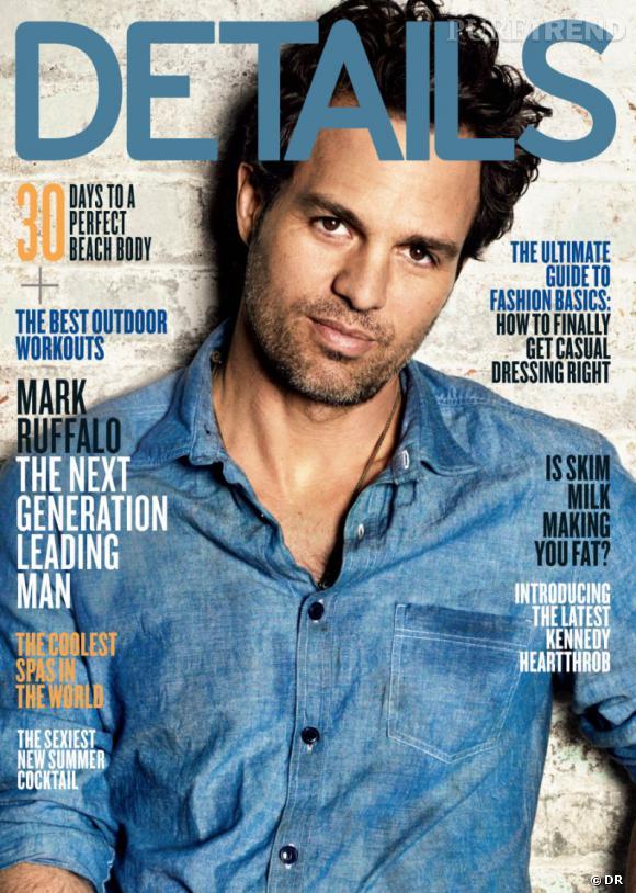 Mark Ruffalo version barbu pose pour le magazine Details.