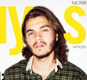 Emile Hirsch version barbu pose pour le magazine Nylon Guys.