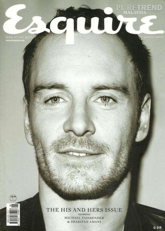 Michael Fassbender version barbu pose pour le magazine Esquire.