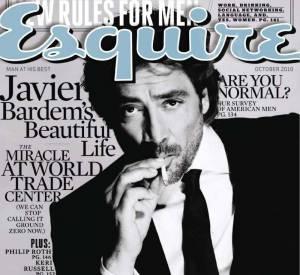Javier Bardem version barbu pose pour le magazine Esquire.