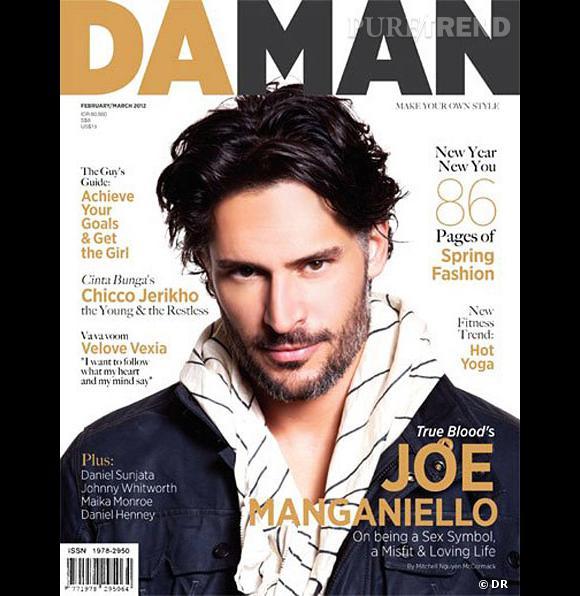 Joe Manganiello version barbu pose pour le magazine Daman.