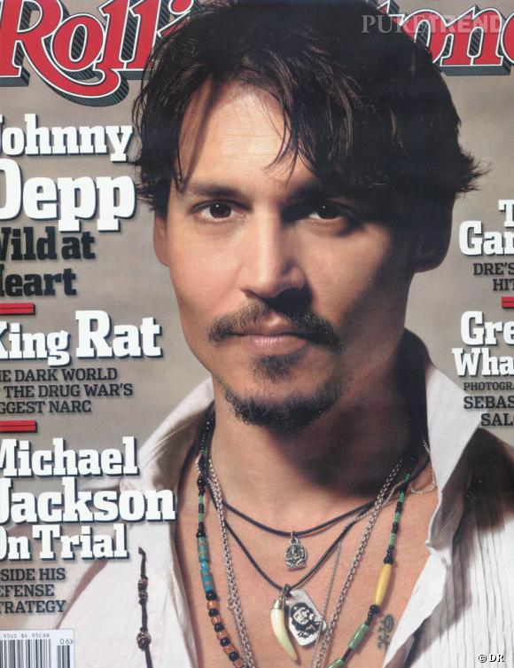 Johnny Depp version barbu pose pour le magazine Rolling Stone.