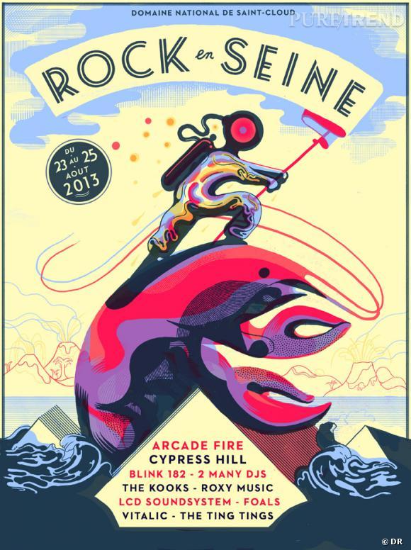 Festival de Rock en Seine, du 23 au 25 août 2013.