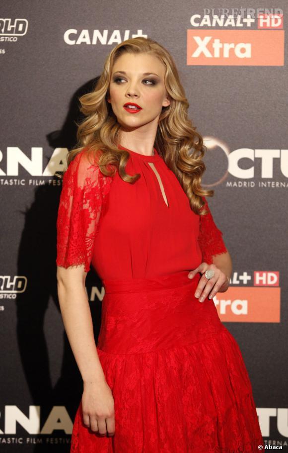 "Natalie Dormer a obtenu le rôle de Cressida dans ""Hunger Games""."