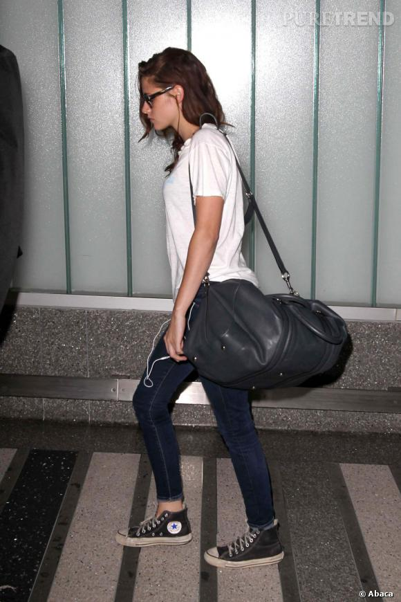 Les Converse, it-shoes des stars : Kristen Stewart est fan des baskets All Star Chuck Taylor