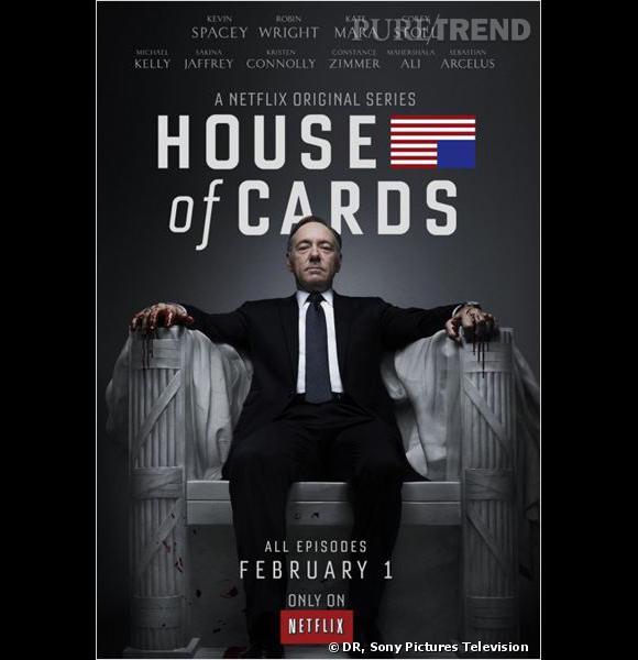 """La série Netflix """"House of Cards"""" débarque sur Canal + ce jeudi 29 août : à ne pas rater !"""