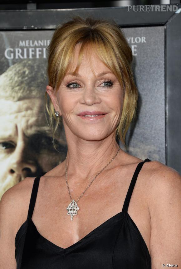 Mélanie Griffith n'a que 56 ans. On pourrait lui donner bien plus.
