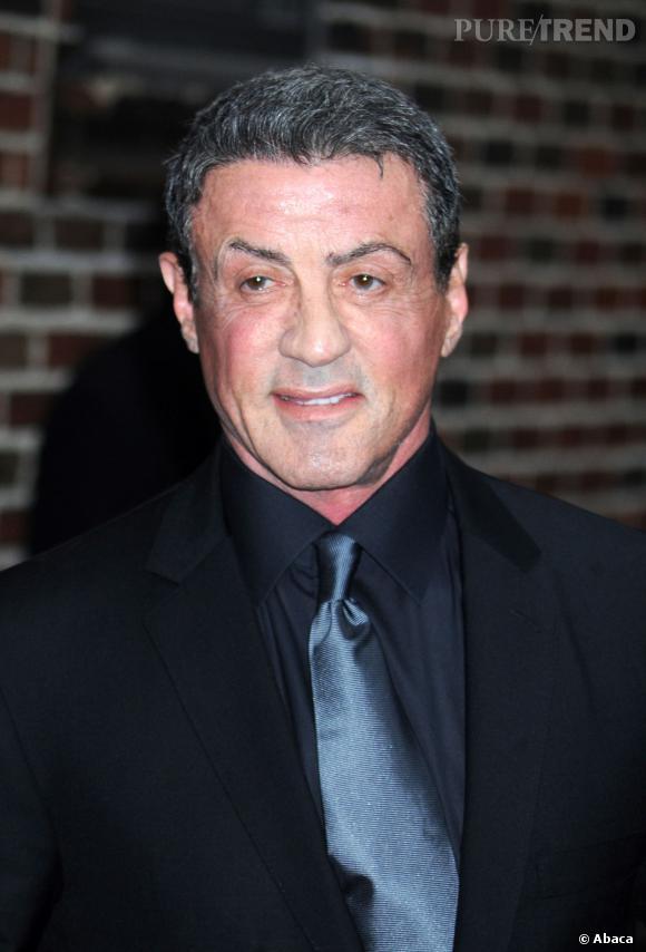 Sylvester Stallone voulait retarder les signes de l'âge. Bon, c'est raté.