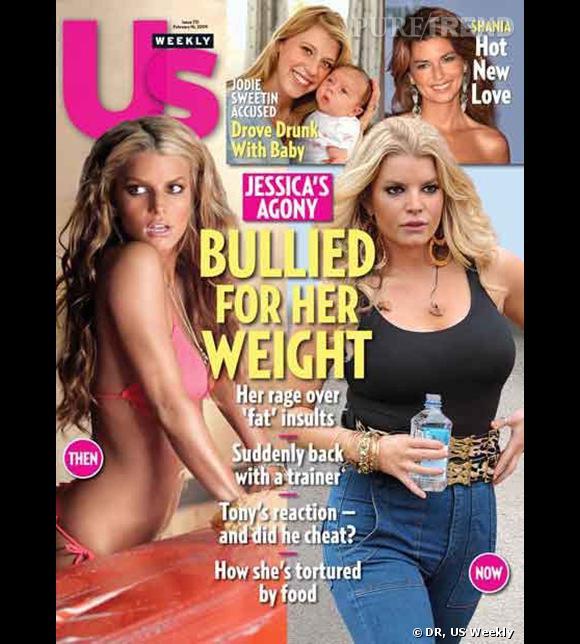 Jessica Simpson raillée pour son régime yoyo.