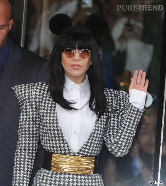 Lady Gaga, une Minnie très 80's.