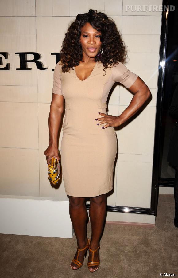 Sur les red carpet, Serena Williams est toutefois capable de jolies apparitions.