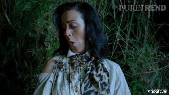 Katy Perry a un peu du mal à s'acclimater !