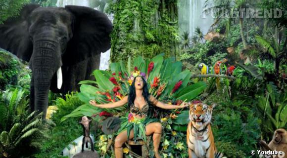 Katy Perry devient la reine de la jungle.