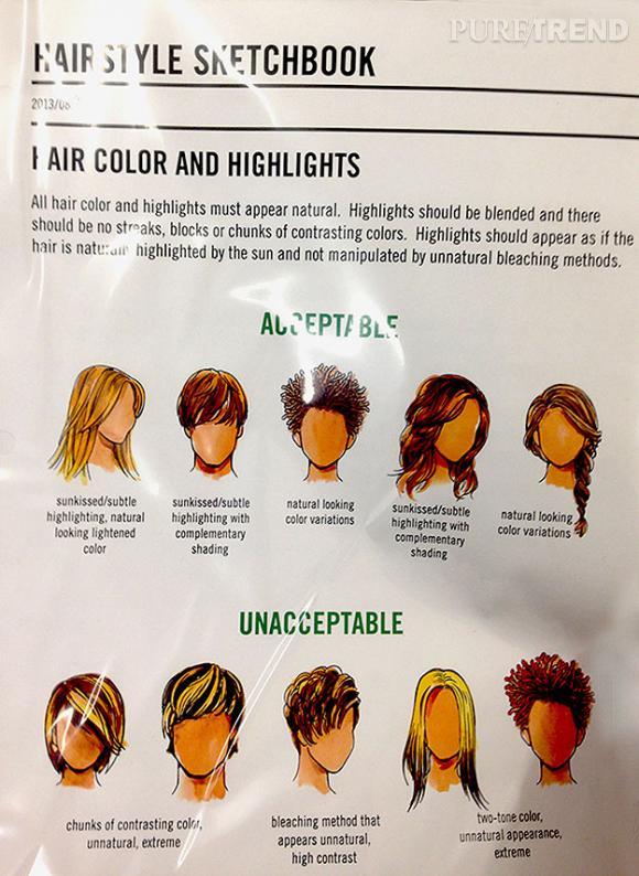 """Abercrombie & Fitch et son guide des coiffures """"acceptables"""" et """"inacceptables""""."""