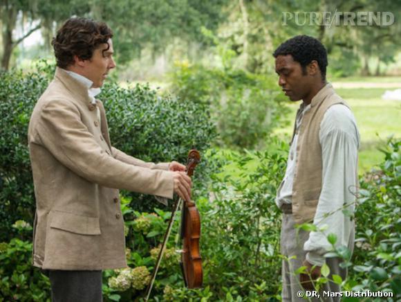 """""""12 years a Slave"""" avec Chiwetel Ejiofor et Benedict Cumberbatch, prochainement au cinéma."""
