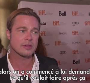 "Brad Pitt et Michael Fassbender parlent de ""12 years a slave""."
