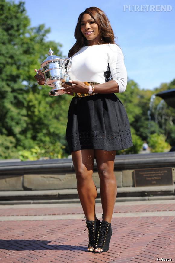 Serena Williams sur son 31 pour prendre la pose.