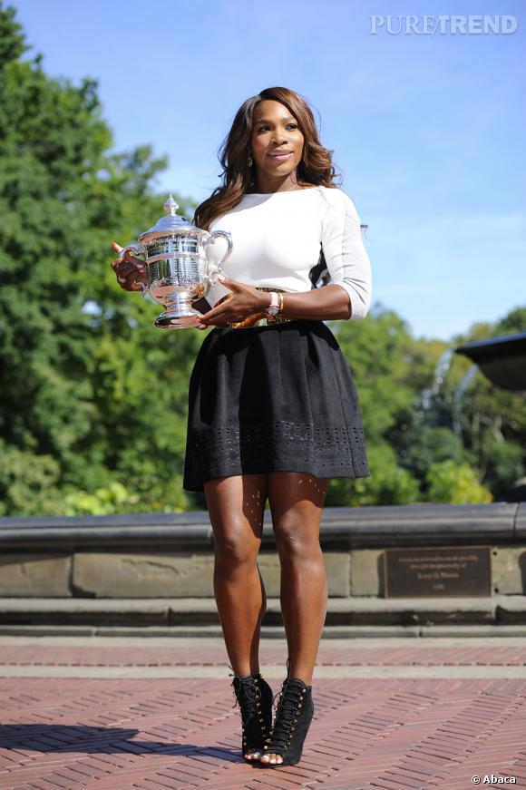 Serena Williams, tenniswoman et fashionista.