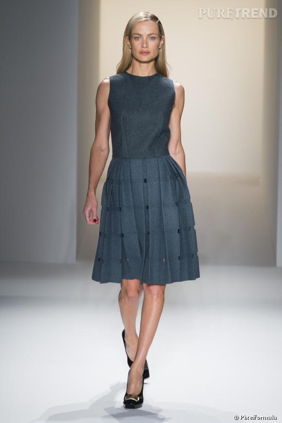 Défilé Calvin Klein Collection Automne-Hiver 2013/2014.