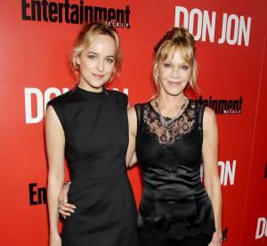Melanie Griffith et Dakota Johnson : une sortie mere-fille tres glamour pour Don Jon