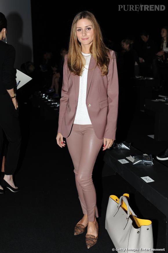 Olivia Palermo, mode et automnale, elle fait sensation.