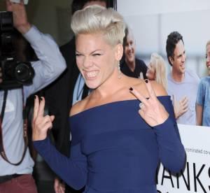 Pink chanteuse, maman et maintenant actrice : ''Ce fut une annee formidable''
