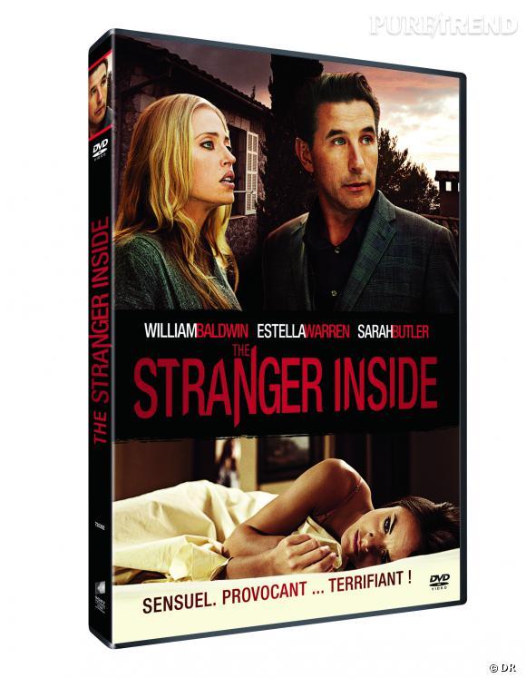 """Le DVD :  """"The Stranger Inside"""".    Pourquoi lui ?  Pour découvrir un super thriller qui concerne un fan psychotique et une jeune actrice.    Le prix  : 19.99 €"""
