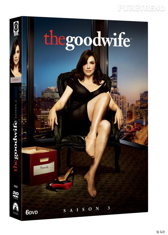 """Le DVD :  """"The Good Wife"""", saison 3.    Pourquoi lui ?  Parce que cette série culte compte bon nombre de fans, ravis de pouvoir s'offrir le coffret... à voir en boucle !    Le prix :  39.99 €"""