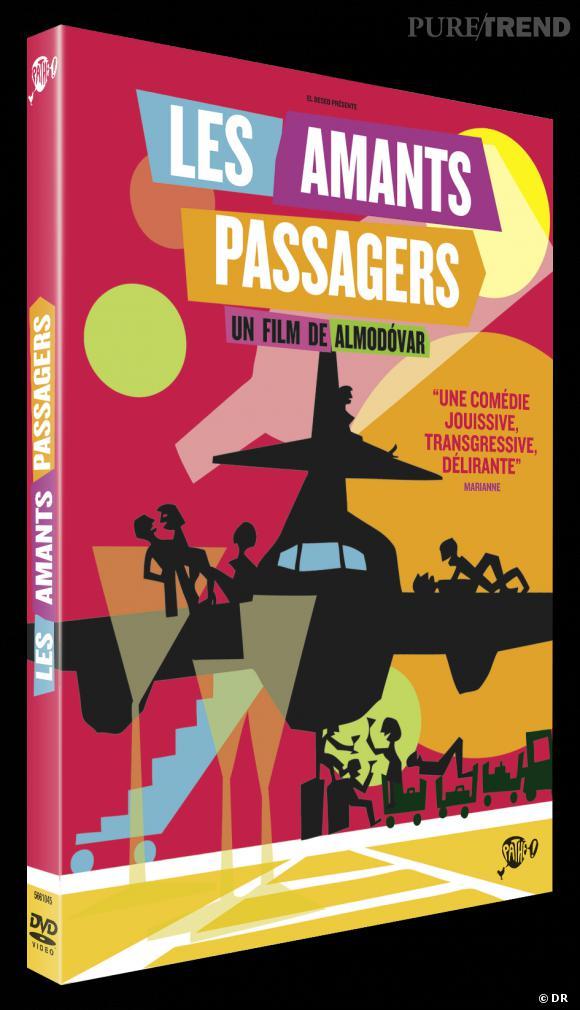 """Le DVD :  """"les Amants Passagers"""".    Pourquoi lui ?  Le film complètement déluré de Pedro Almodovar sort enfin en DVD... Parfait pour une soirée entre amis !    Le prix :  19.99 €"""