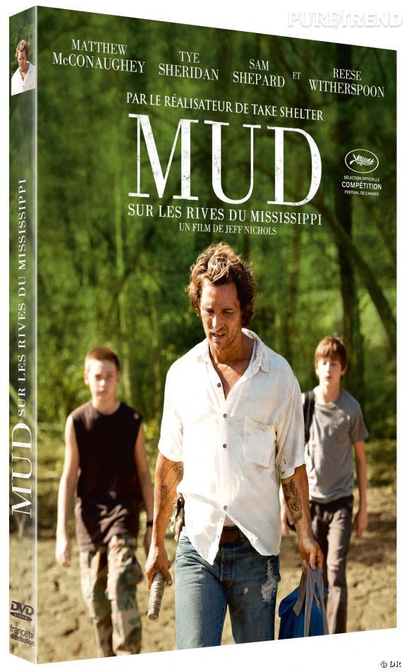 """Le DVD :  """"Mud""""    Pourquoi lui ?  Parce que ce film est un bijou. Avec son merveilleux casting, Matthew McConaughey en tête, """"Mud"""" vous transportera en histoire d'amour et règlement de compte.    Le prix :  19.99 €"""