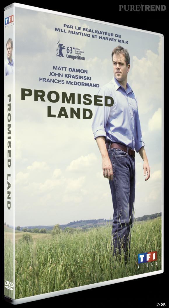 """Le DVD :  """"Promised Land"""".    Pourquoi lui  ? Parce que ce film est sublime. Et il faut l'avouer, l'association Gus Van Sant et Matt Damon fonctionne à merveille.    Le prix  : 19.99 €"""