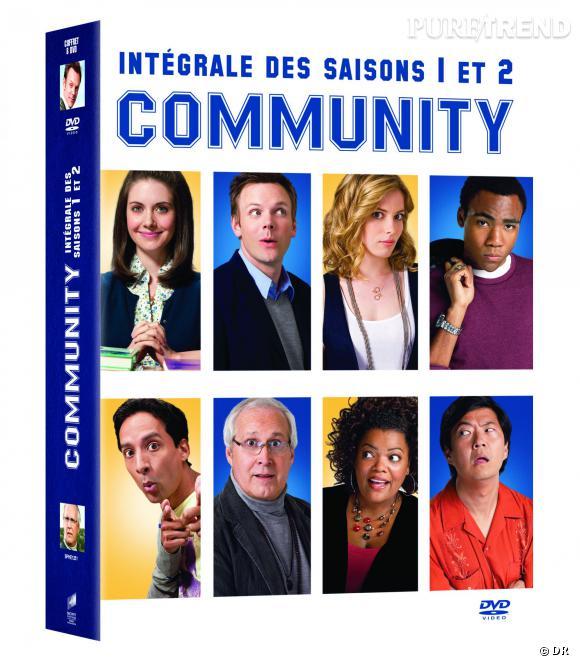 """Le DVD  : """"Community"""" saison 1 et 2.    Pourquoi lui ?  La série délirante sort ENFIN en dvd, il était temps ! Pour fêter ça on commande déjà les deux premières saisons... fous rire garantis.    Le prix  : 34.99 €"""