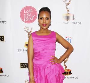 Kerry Washington : la femme la mieux habillee au monde joue les jolies Barbie