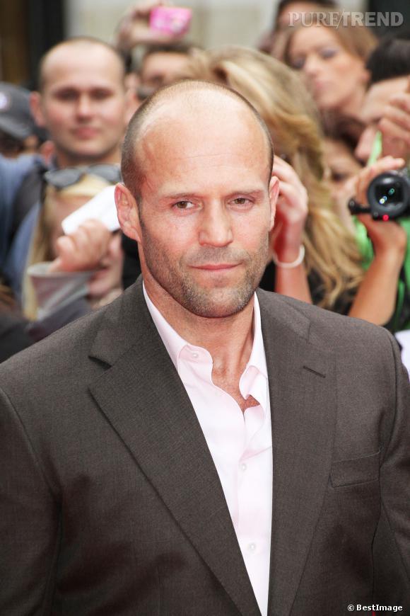 Jason Statham a 46 ans et semble toujours s'entretenir, films d'action oblige.