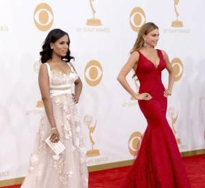 Les belles des Emmys parlent de leurs robes.