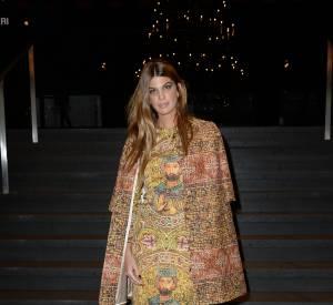 Bianca Brandolini d'Adda au défilé Printemps-Été 2014 Dolce & Gabbana.