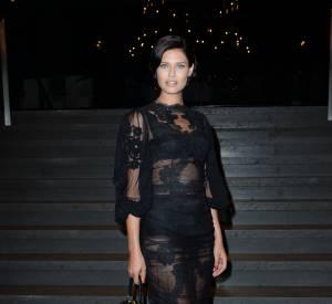 Bianca Balti au défilé Printemps-Été 2014 Dolce & Gabbana.
