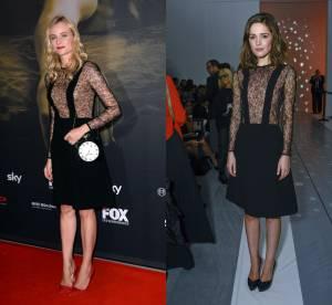 Diane Kruger VS Rose Byrne : la robe salopette sexy Jill Stuart