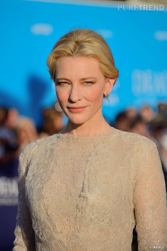 Cate Blanchett est connue pour son teint parfait.