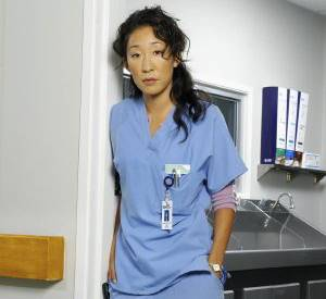Grey's Anatomy : Sandra Oh alias Christina Yang.