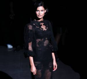Bianca Balti en Dolce & Gabbana.