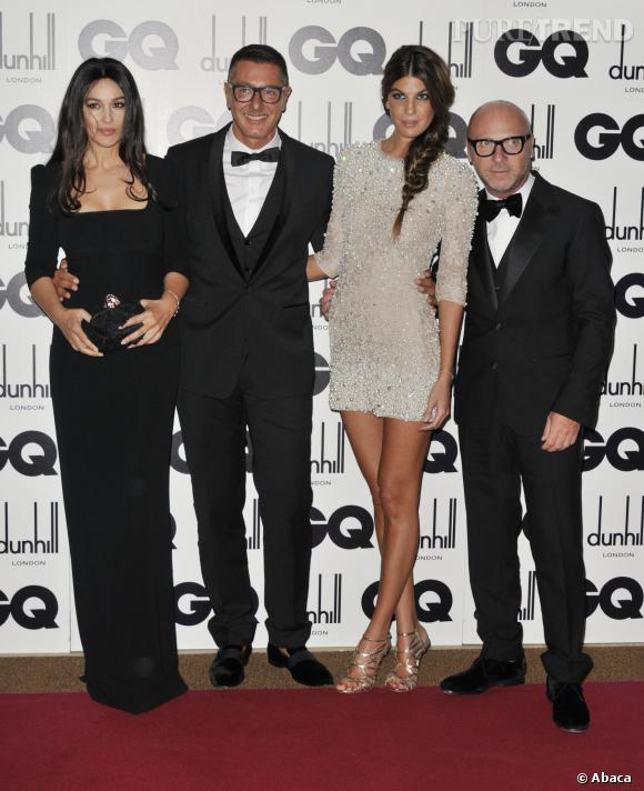 Monica Bellucci est fidèle à Dolce & Gabbana depuis des années.